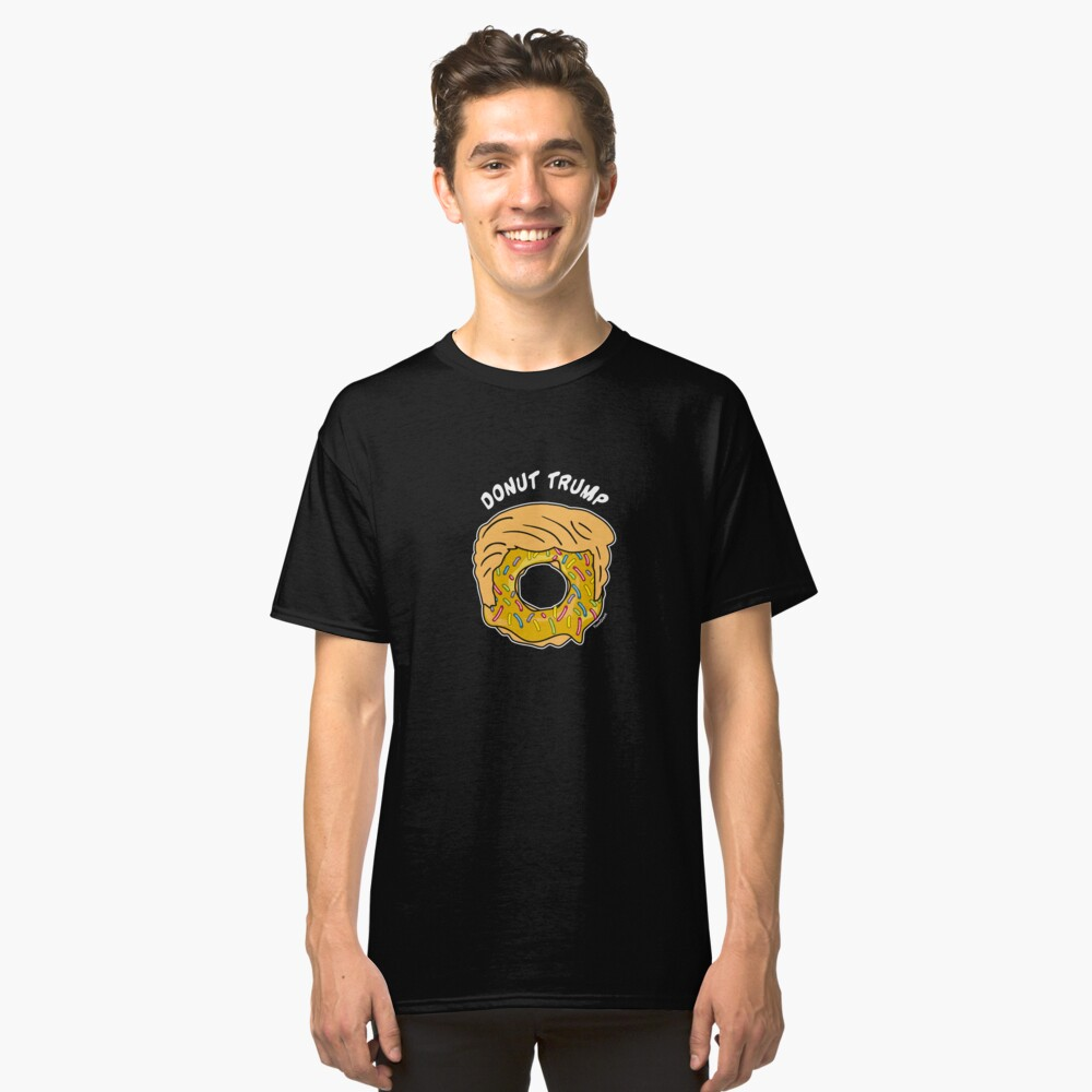 Donut Trump Classic T-Shirt Front