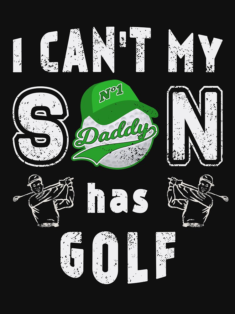 Golf Father Father Day for Golfers Daddy Dad by TheLariat