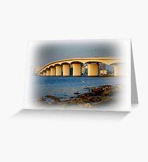 Sarasota Bridge  Greeting Card