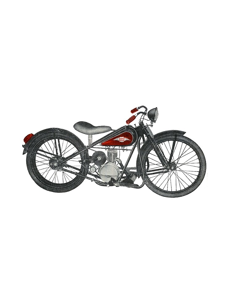 The Old MotorBike 1950s Economy!  by taspaul