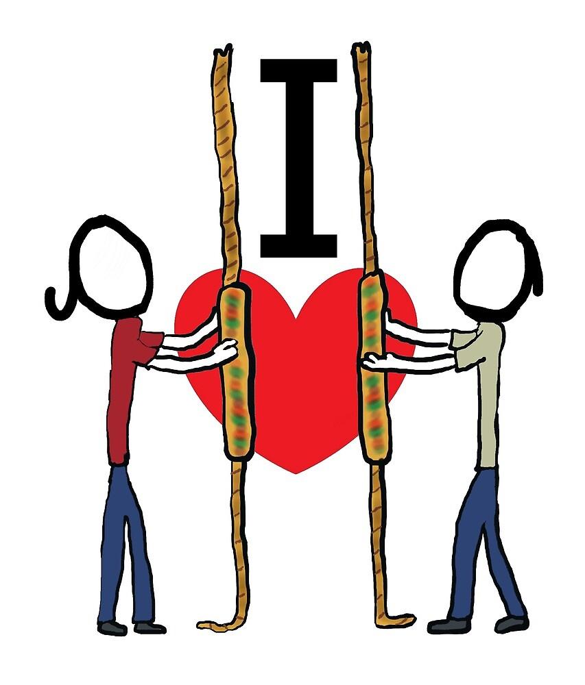 I Love Campanology by Mark-Ewbie