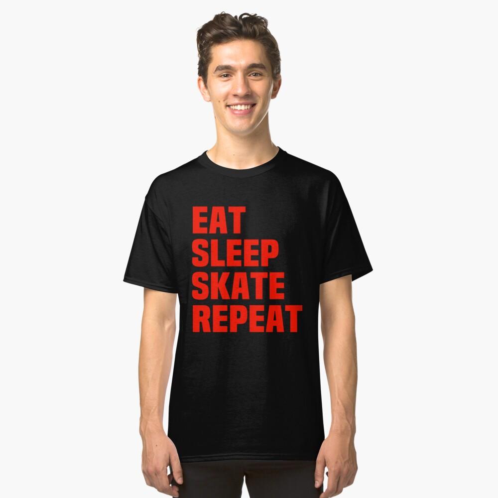 Skateboard Classic T-Shirt Front