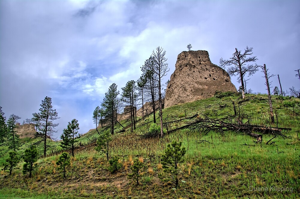 Rocks Of Chadron 2 by Duane Klipping