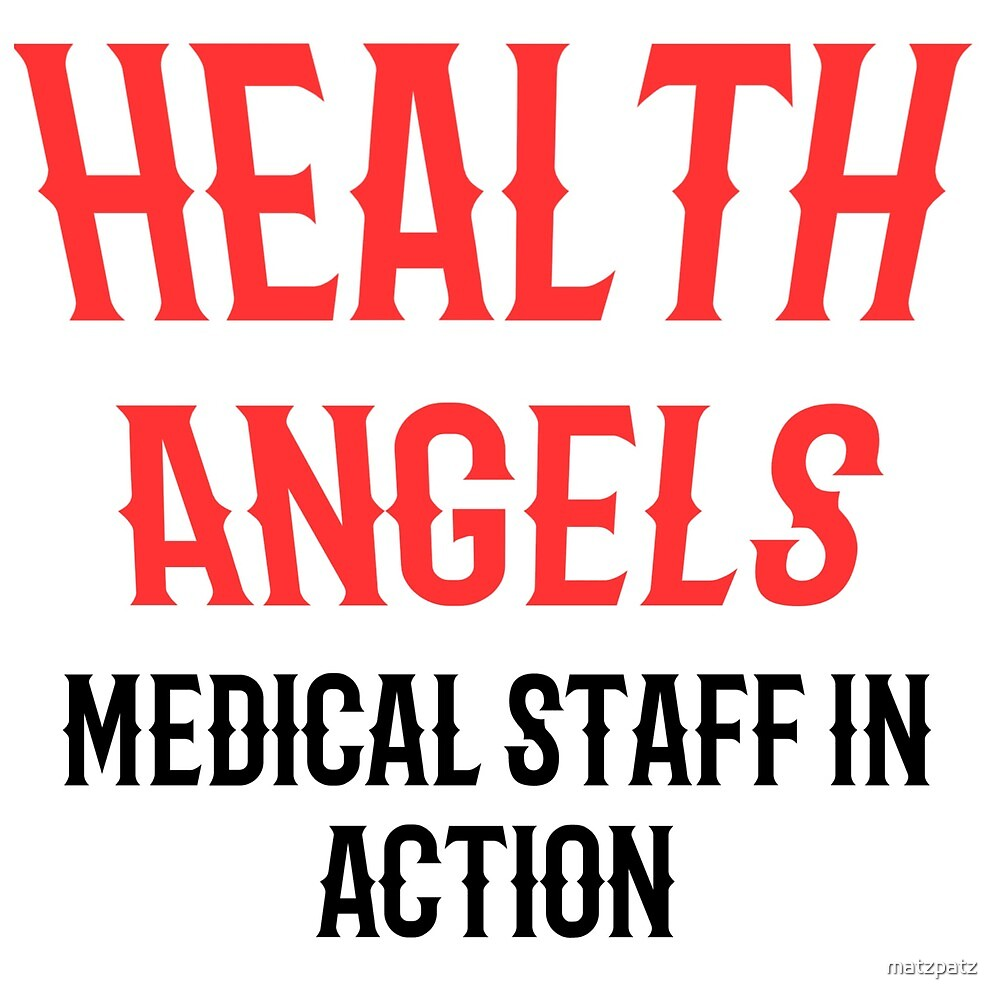 Health Angels, Hells Angels, Nurse, Nurse, saying, sayings, gift, gift idea by matzpatz