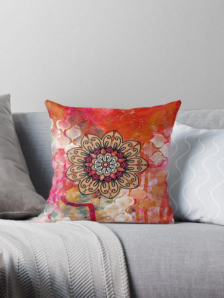 Painted Mandala by Phantasmag0ry