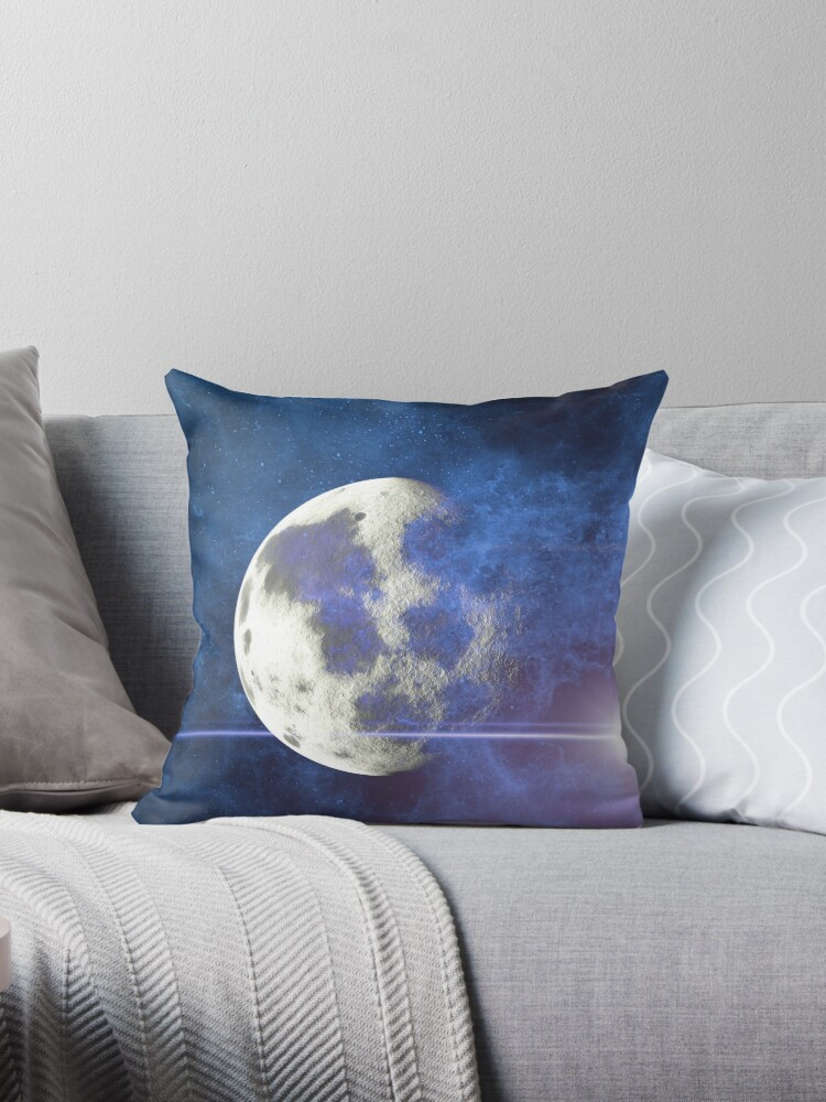 Moon in space by PurefireDesigns