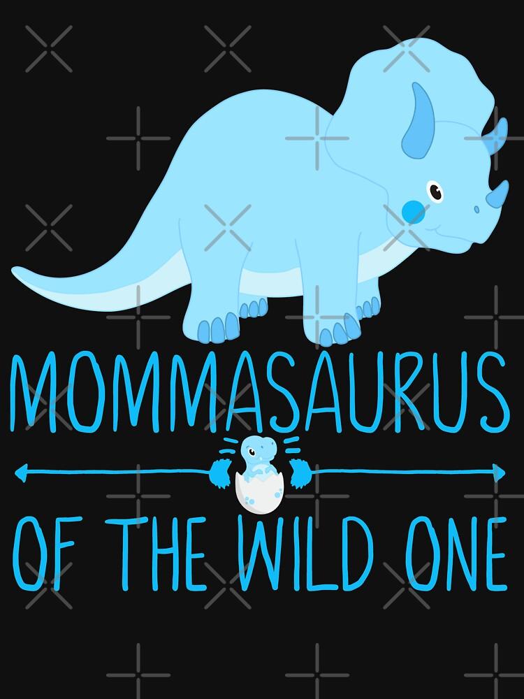 Momma Saurus Funny Dinosaur by FutureInTheAir