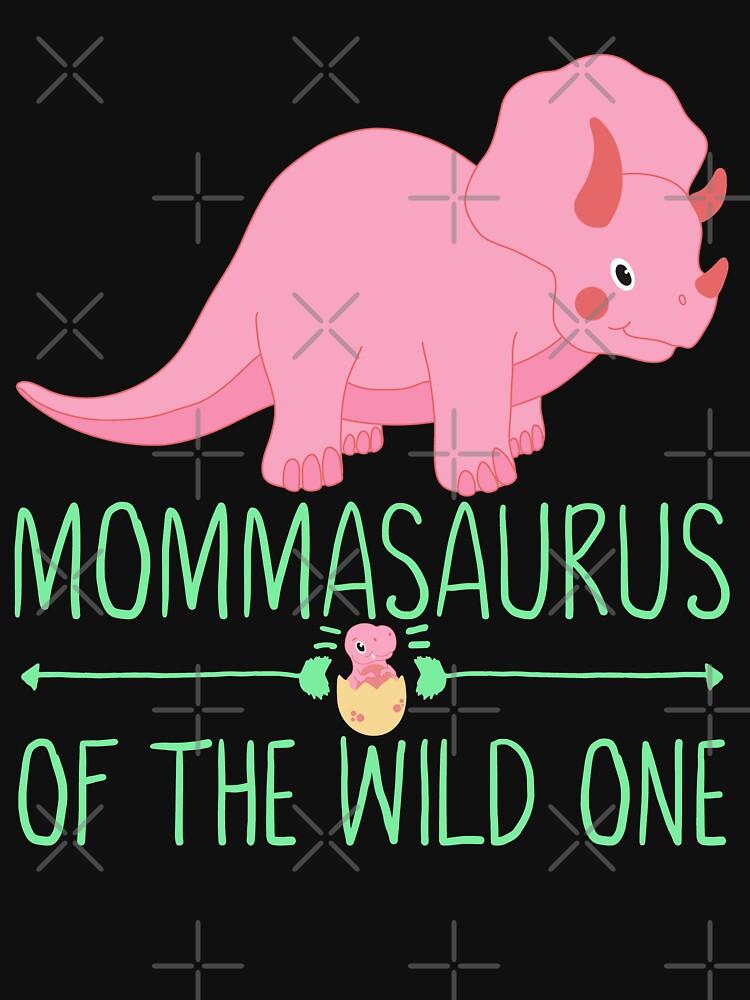 Momma Saurus Babysaurus Gift by FutureInTheAir