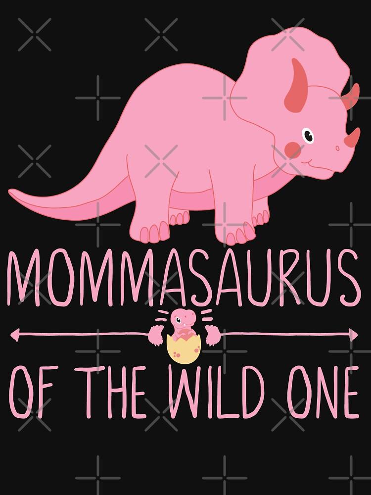 Momma Saurus Funny Gift by FutureInTheAir