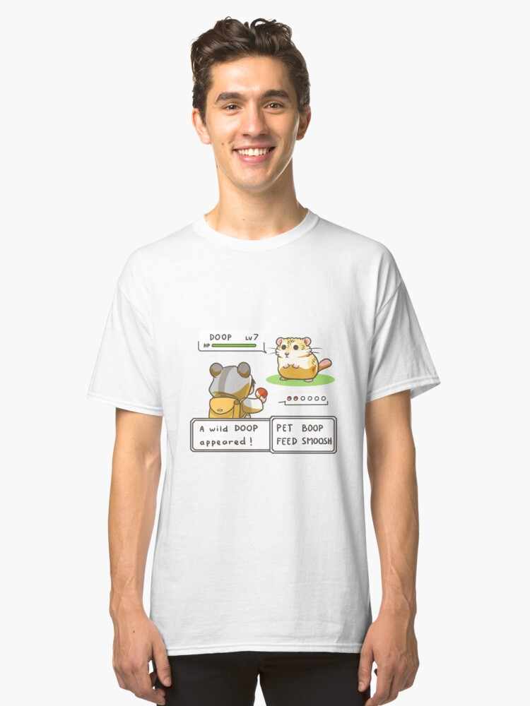A wild Doop appeared! Classic T-Shirt Front