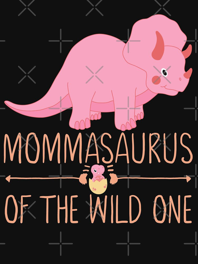 Momma Saurus Funny Dino Mom by FutureInTheAir
