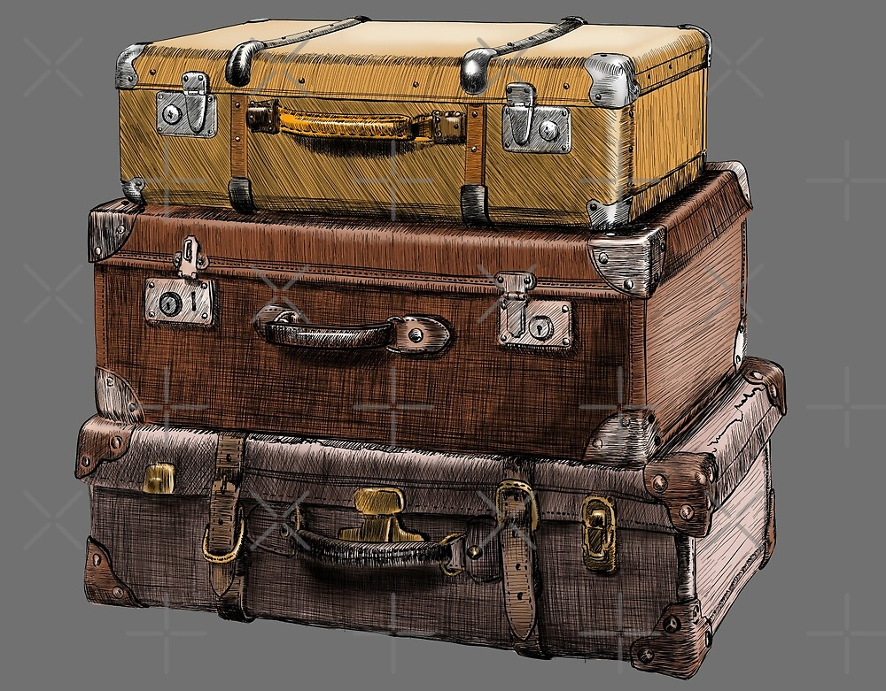 suitcase by Sibo Miller