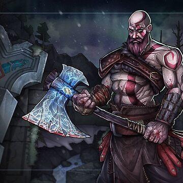 Kratos by Monkeydario
