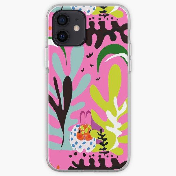 "Mr. Biggles skandi range ""camo bunny"" scandi pattern, scandi print, rabbit pattern, rabbit lover gift  iPhone Soft Case"