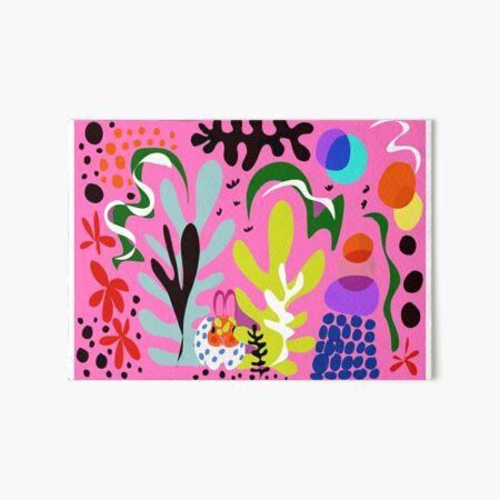 "Mr. Biggles skandi range ""camo bunny"" scandi pattern, scandi print, rabbit pattern, rabbit lover gift  Art Board Print"