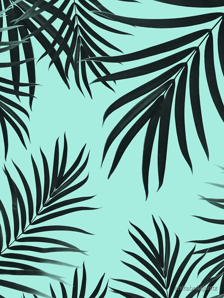 Palm Leaves Pattern Summer Vibes #7 #tropical #decor #art  by anitabellajantz