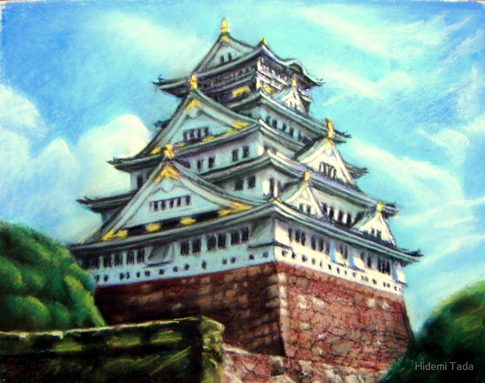 Osaka Castel by Hidemi Tada