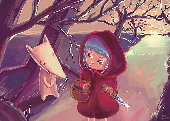 """""""The Little Black Hood"""" by Trezetreze"""
