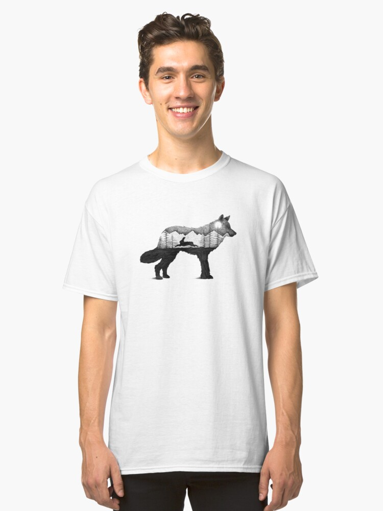 wolf Classic T-Shirt Front