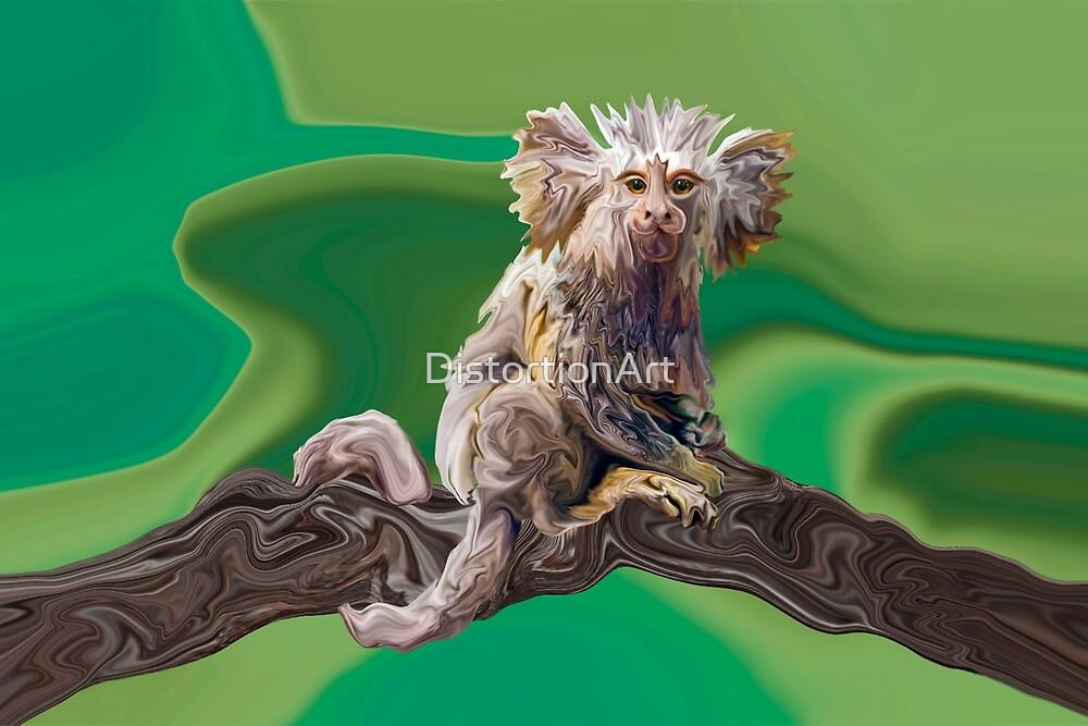 Melanie's Marmoset Monkey by DistortionArt