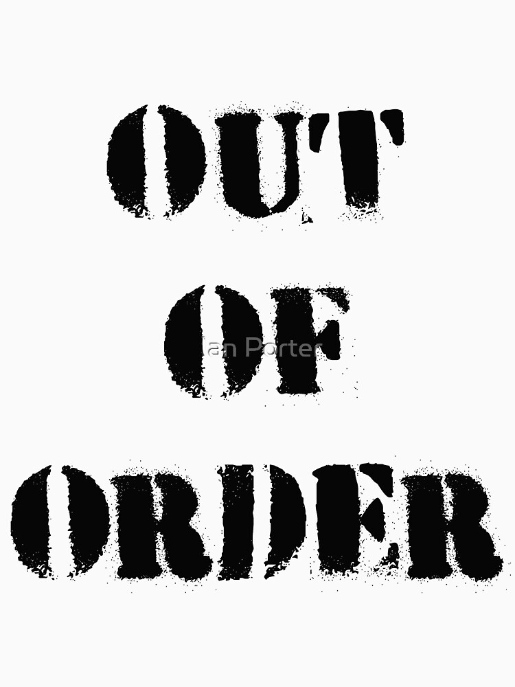 Out of Order by procrest