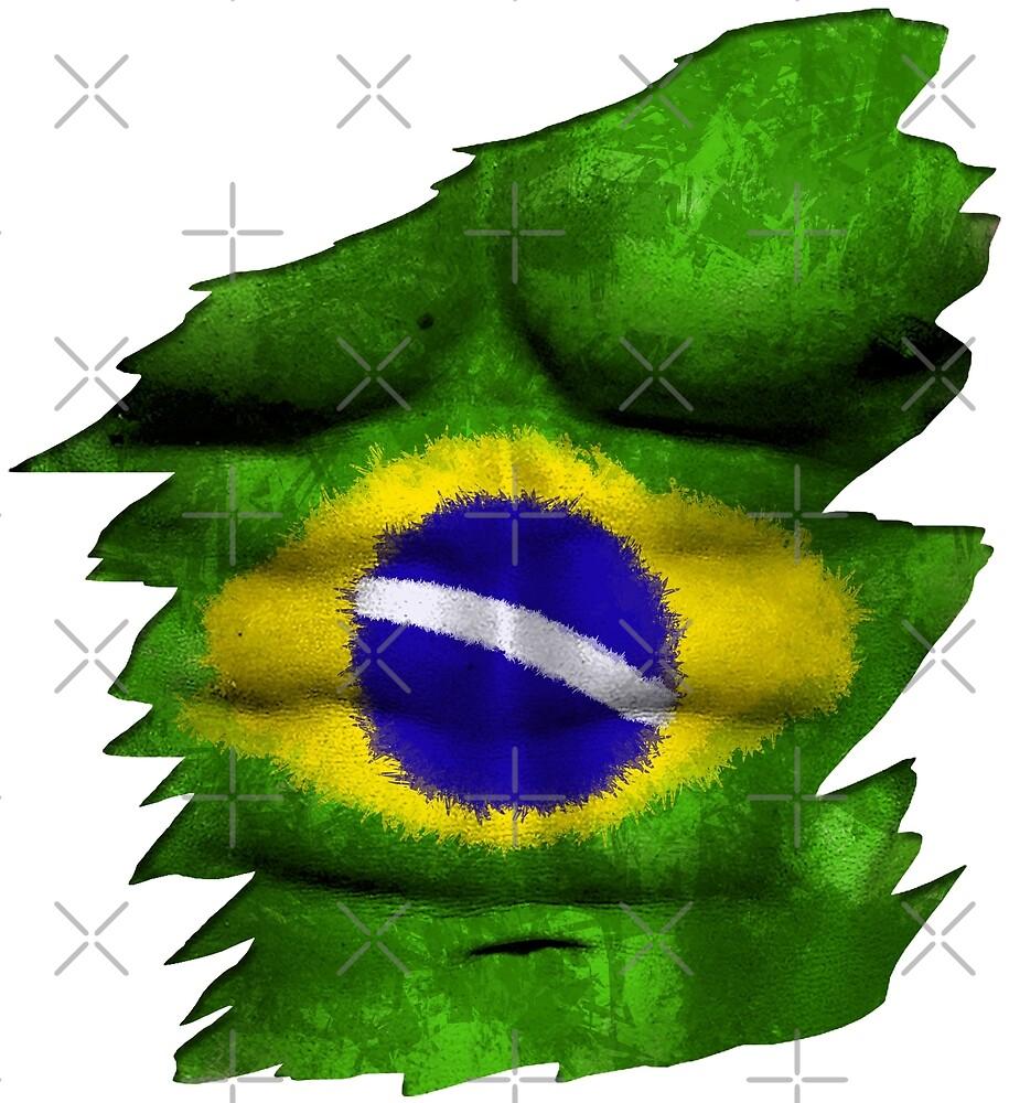 Brasil World Cup Shirt T Shirt by proeinstein