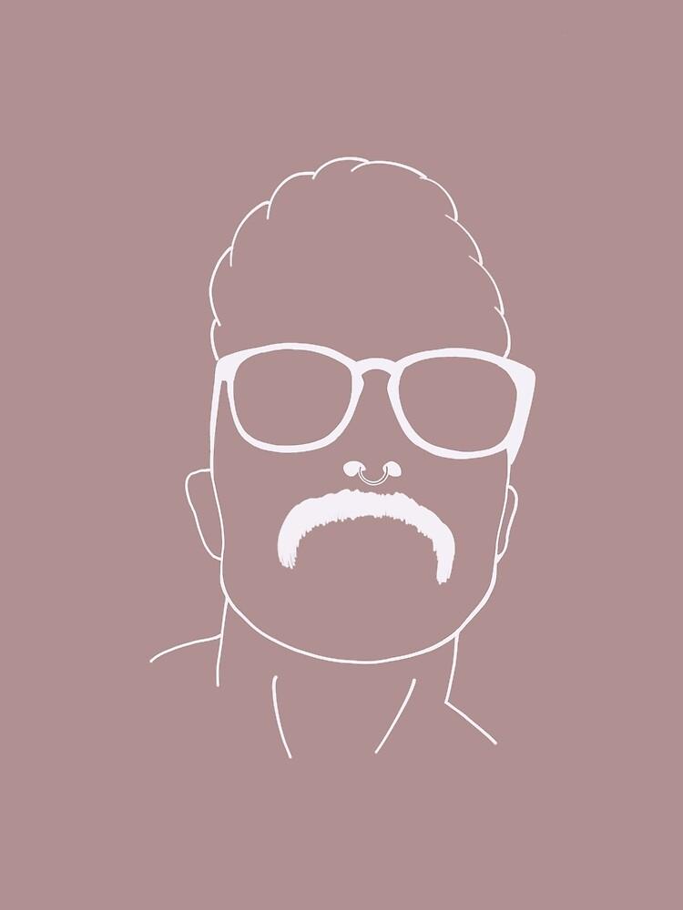 Moustache  by Jarffra