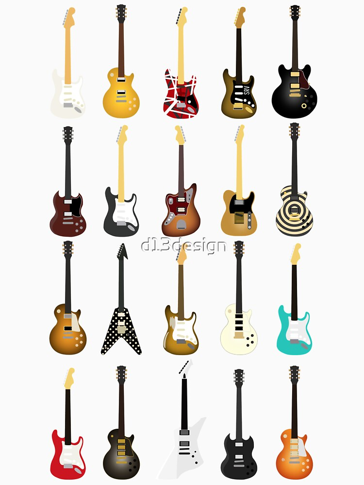 Guitar Collection by d13design