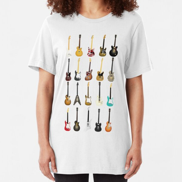 Guitar Collection Slim Fit T-Shirt