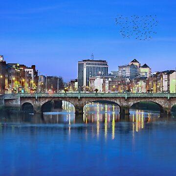Dublin City Sunrise by stuartk