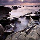 Dawn at Moffet Beach by David de Groot