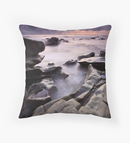 Dawn at Moffet Beach Throw Pillow