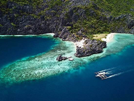 Island Hopping around the Philippine Islands  by The-Drone-Man