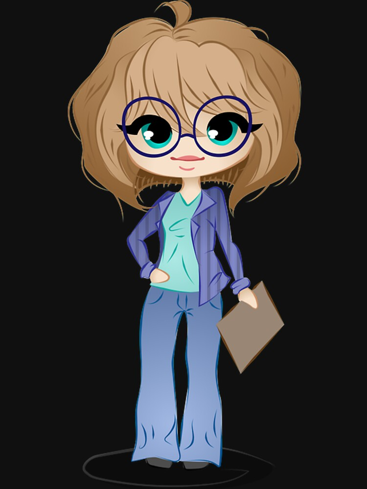 Office business woman holding business by Scirocko