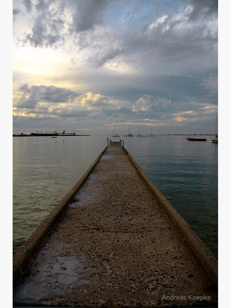 Old jetty by mistered