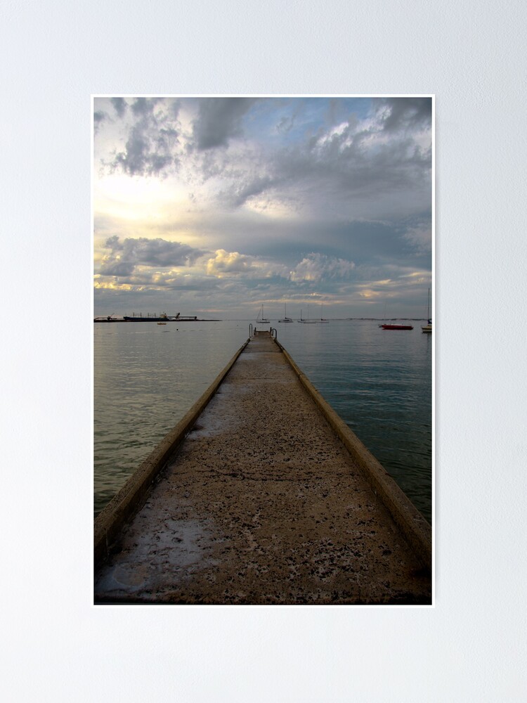 Alternate view of Old jetty Poster