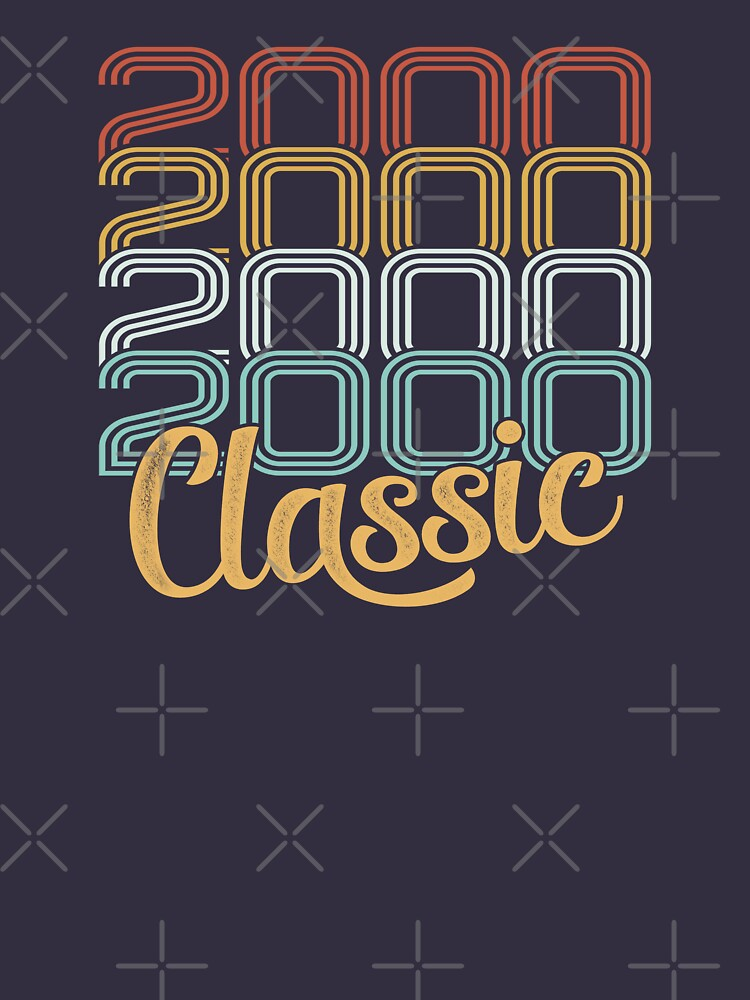 Vintage 2000 Retro Classic - 18 Birthday by funny-gift