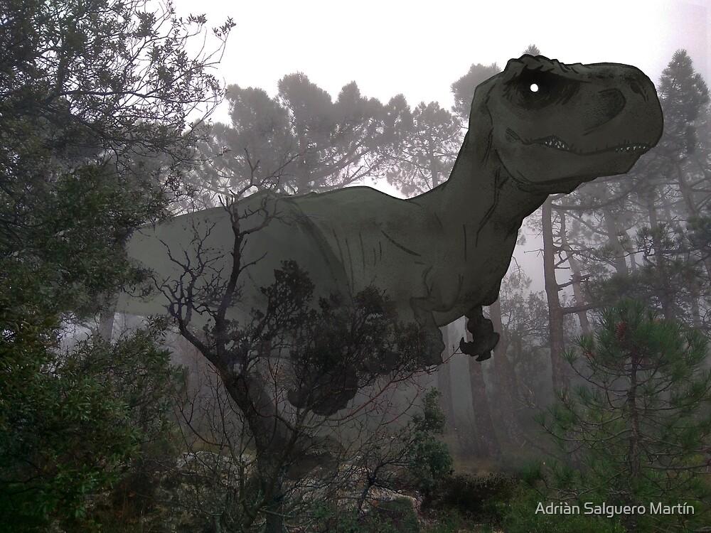 Imagine a new reality -  Tyrannosaurus rex by Adriàn Salguero Martín