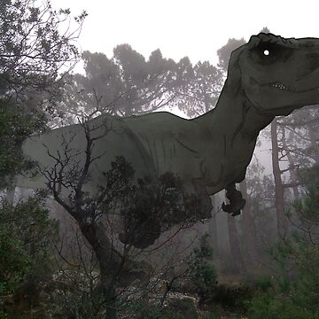 Imagine a new reality -  Tyrannosaurus rex by itadakki