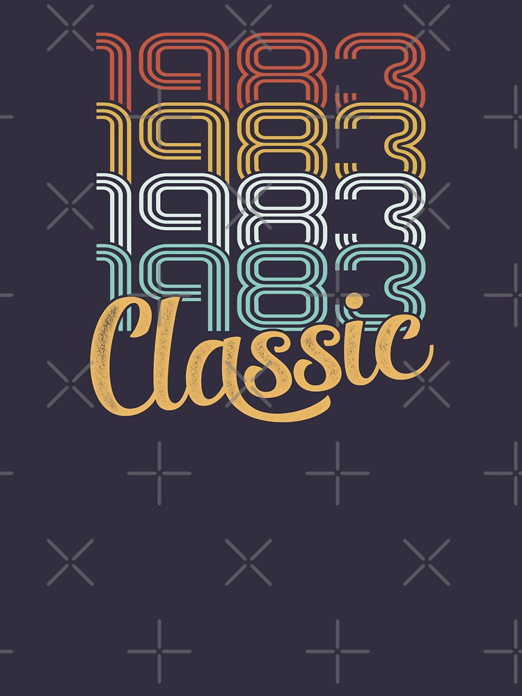 Vintage 1983 Retro Classic - 35 Birthday by funny-gift