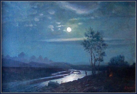 Evening Moonlight by virginia50
