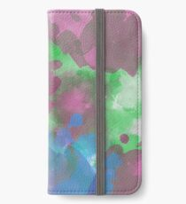Colorful Wall Painting  iPhone Wallet/Case/Skin