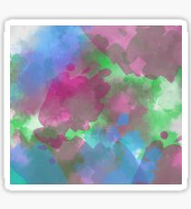 Colorful Wall Painting  Sticker