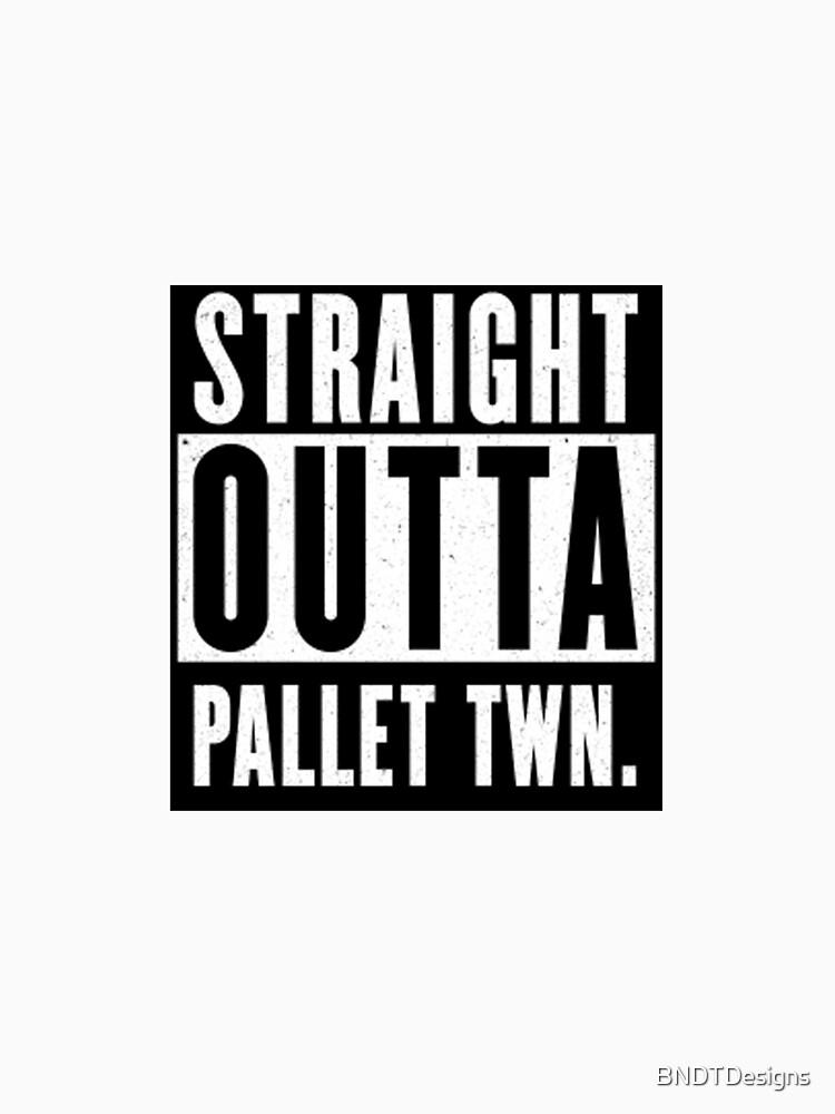 Straight Outta Pallet Town by BNDTDesigns