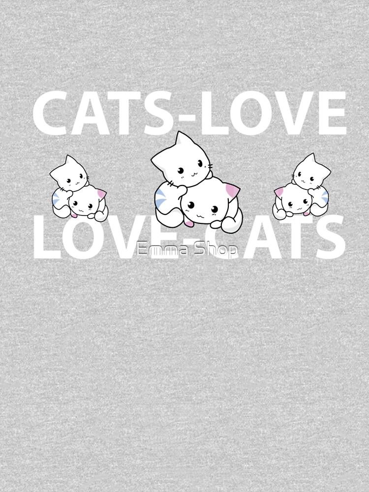 CATS-LOVE Cat Love Friend Lovely Cat Litter by Noureddine35