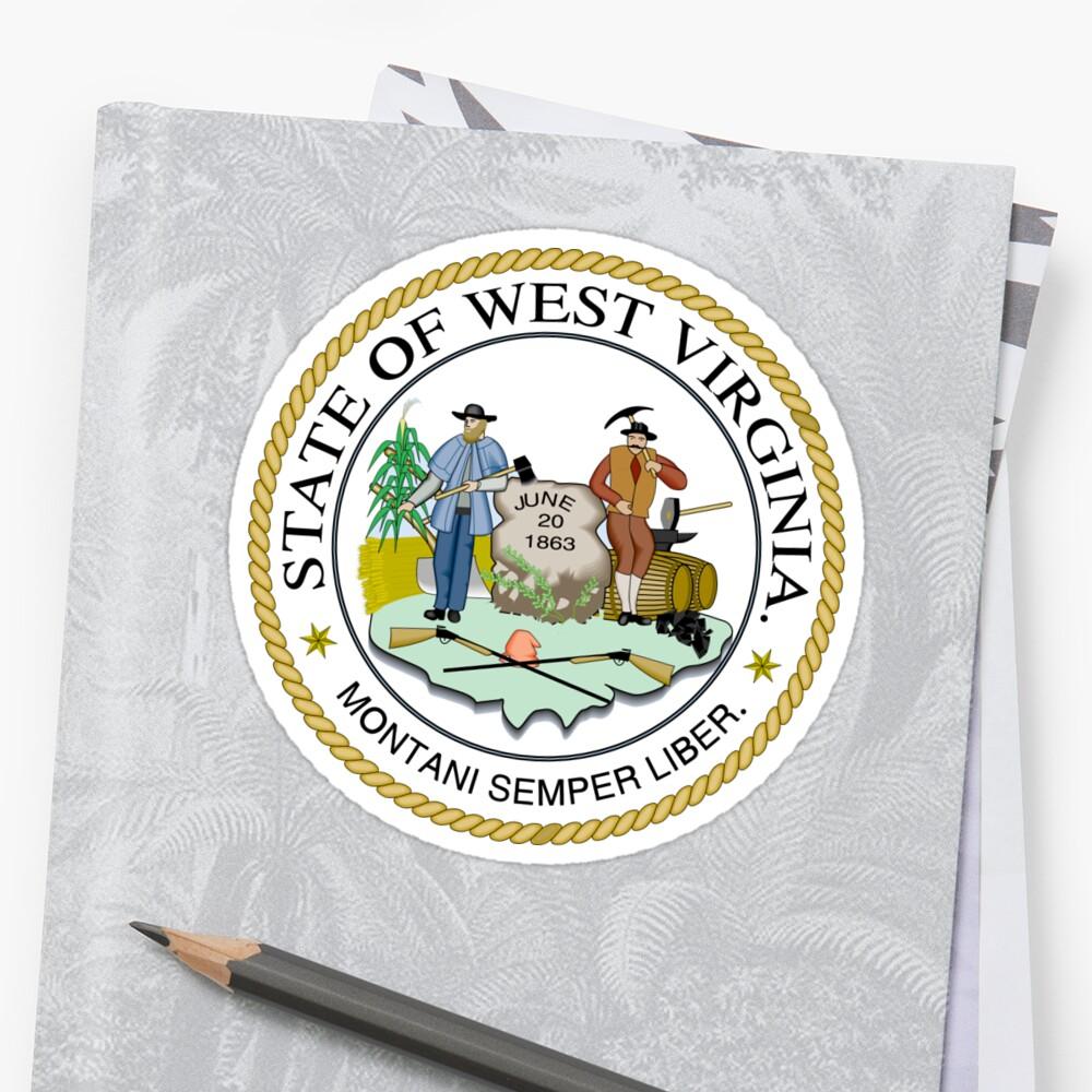 State Seal Of West Virginia by BankrobberGus