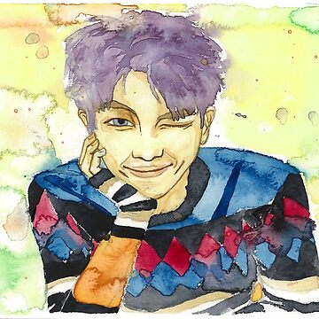 Kim Namjoon's Wink by -AllieB-