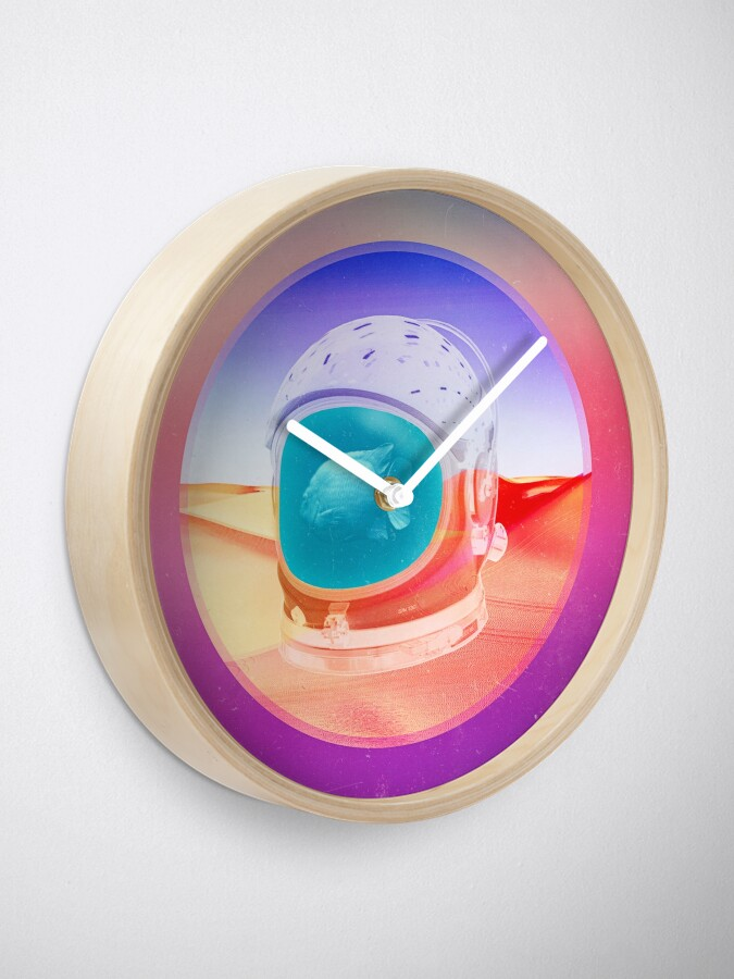 Alternate view of Tranquil Clock