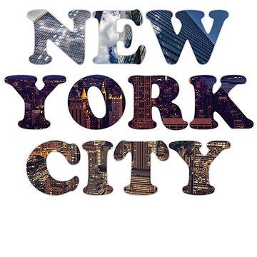 NEW YORK CITY by AVenkmanDesign