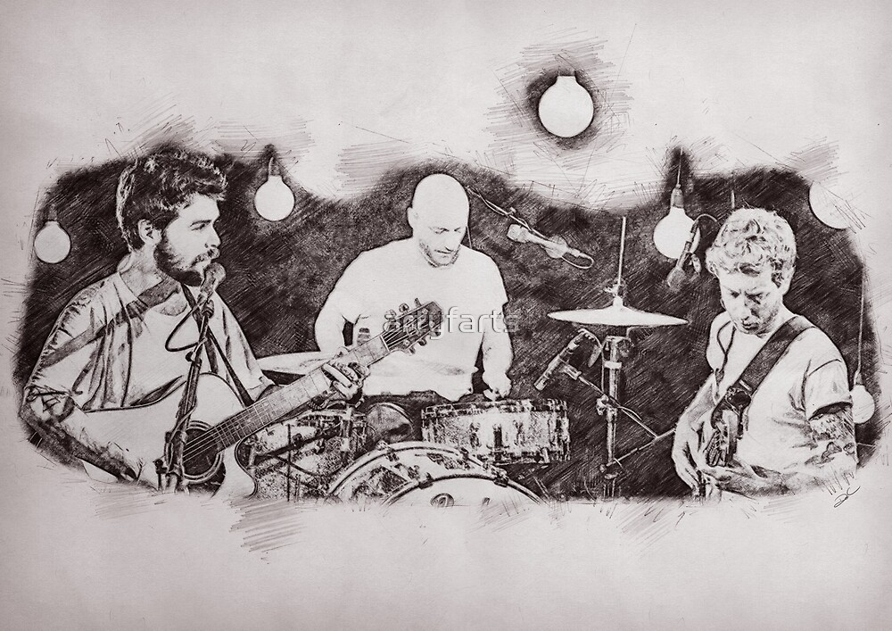 BC - Group shot sketch by artyfarts